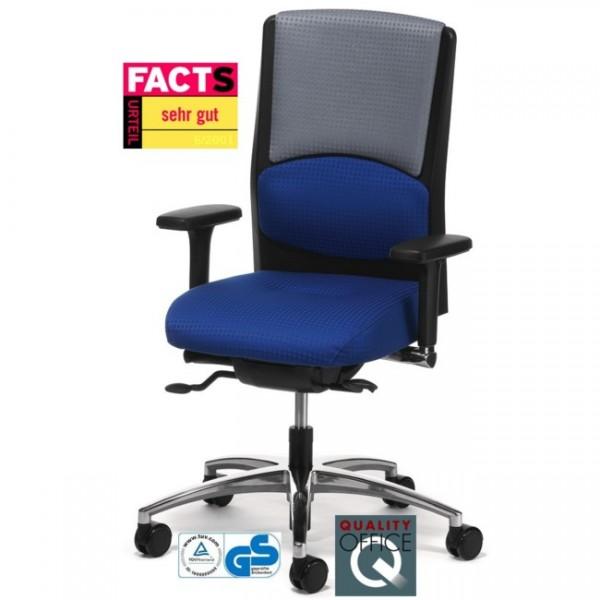 Drehstuhl mit Polsteraufdopplung Mireo 620002 konfigurierbar