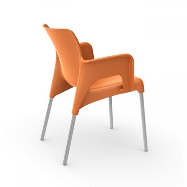 Armlehnstuhl Sun orange 03519o