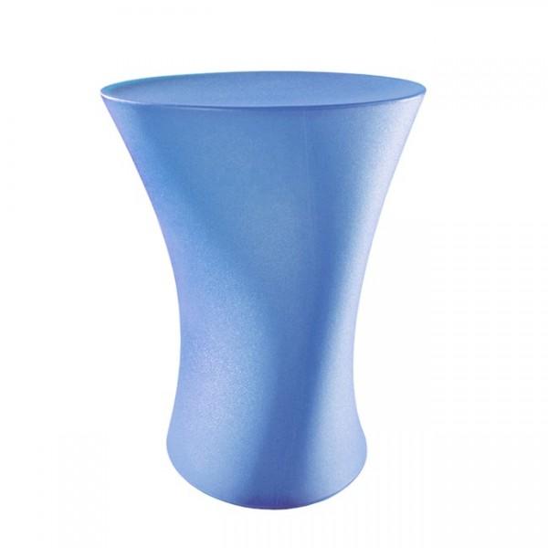 Hocker Plastic hellblau plasticH06