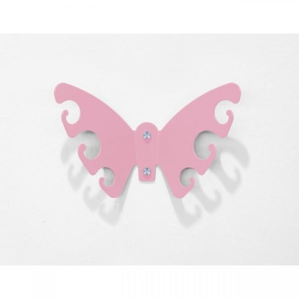Schlüsselboard Butterfly S hellrosa 101e