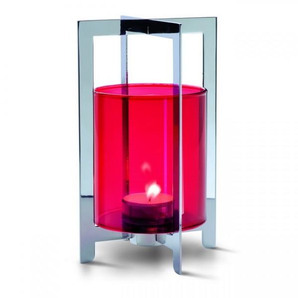 Teelichthalter Lampion rot 123104
