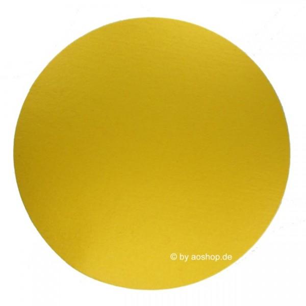 Filzauflage Rund 35 cm gelb 3001535_15