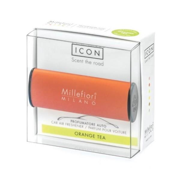 Millefiori Milano Auto Air Freshener Classic Orange Tea 16CAROR