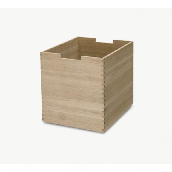 Box mit Rollen groß Cutter Eiche S1920425