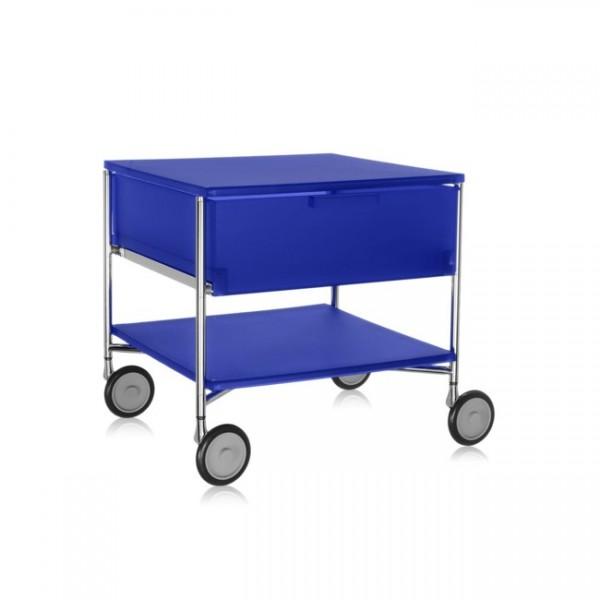 Kartell Mobil Container 1+1 mit Rollen kobaltblau 2000L2