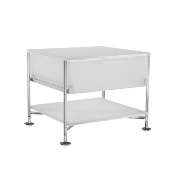 Kartell Mobil Container 1+1 eisfarben 2001L1