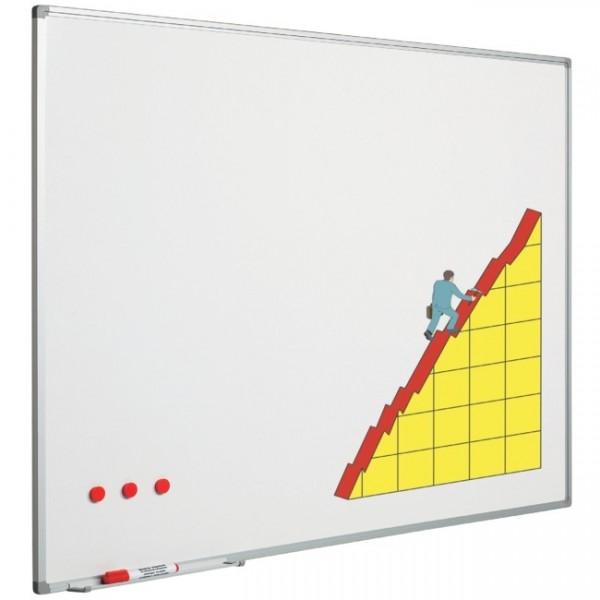 Weißwandtafel emailliert 60x90 cm 201875