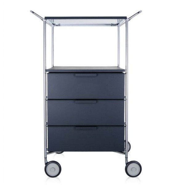 Kartell Mobil Container 3+1 mit Griffe 2330-2331