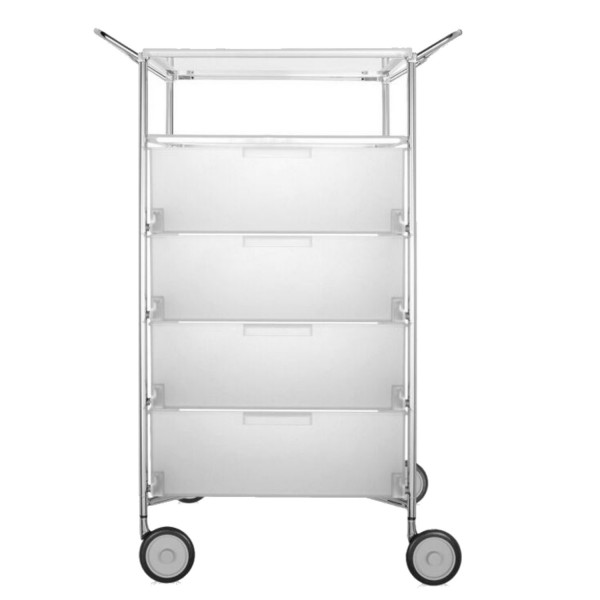 Kartell Mobil Container 4+1 mit Griffe 2334-2335