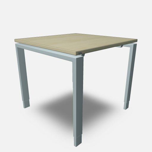 Assmann Schreibtisch Solos 80x80cm konfigurierbar