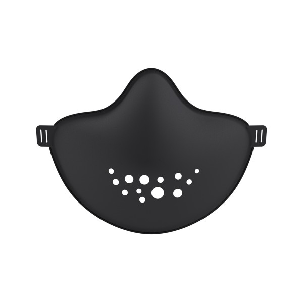 Koziol HI Community Gesichtsmaske cosmos black 3172526