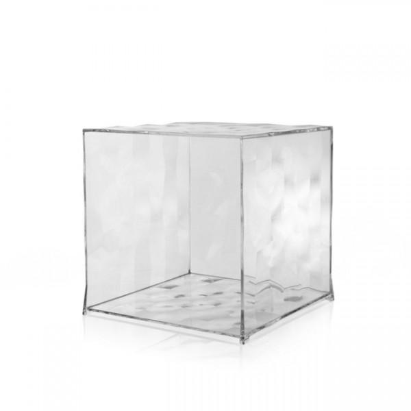 Kartell Kubus ohne Tür Optic glasklar 3500B4