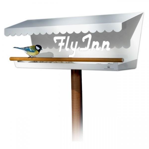 Crown Presents Vogelhaus Fly Inn weiß 350a