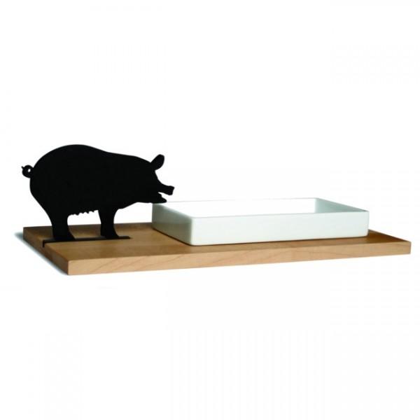 Side by Side Kresseschale smart n green Schwein 40053S