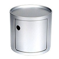 Kartell Componibili silber 4955SI