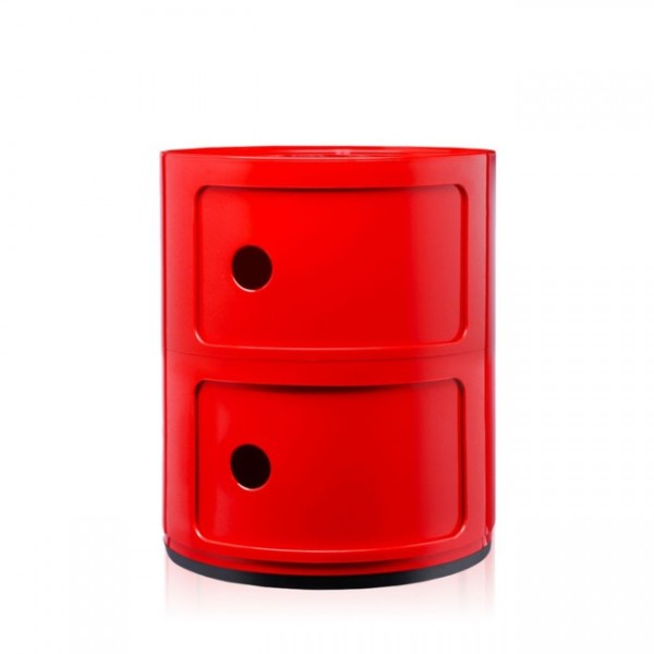 Kartell Componibili 2 Fächer rot 496610