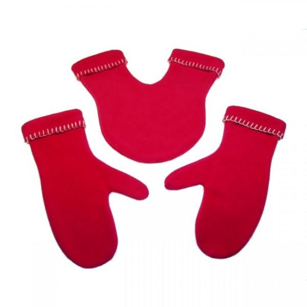 Partnerhandschuhe rot 507e