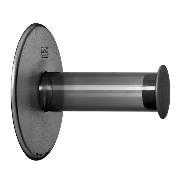 Koziol WC Rollenhalter Plug n Roll transp. anthrazit 5235540