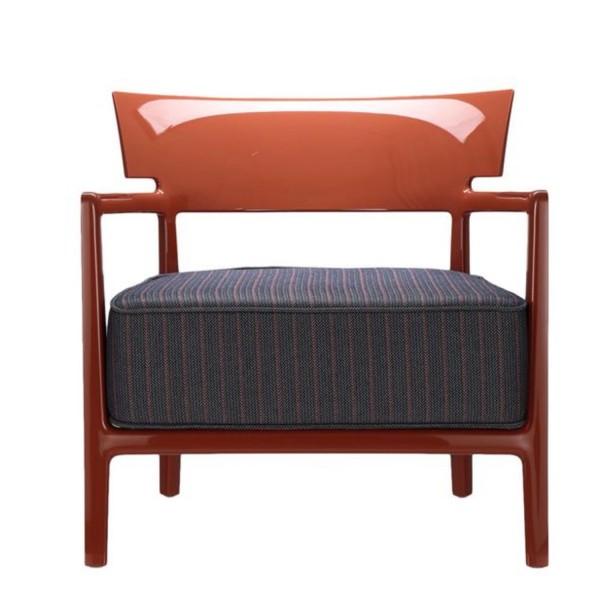 Kartell Sessel Cara Outdoor rostbraun/blau-orange 58443M
