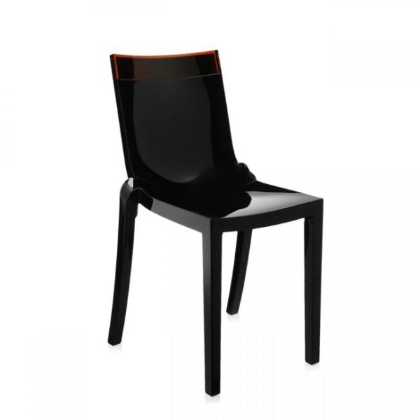 Stuhl Hi Cut schwarz orange 5850N5