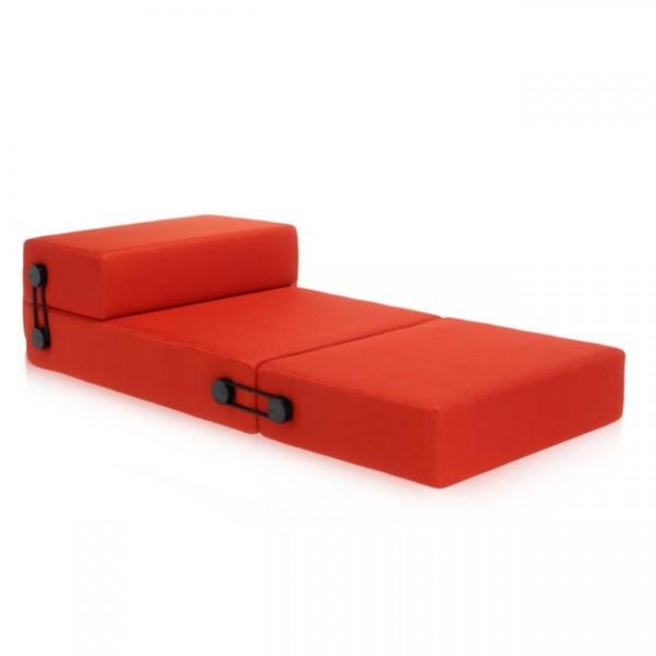 Kartell Sofa Trix orange 602502