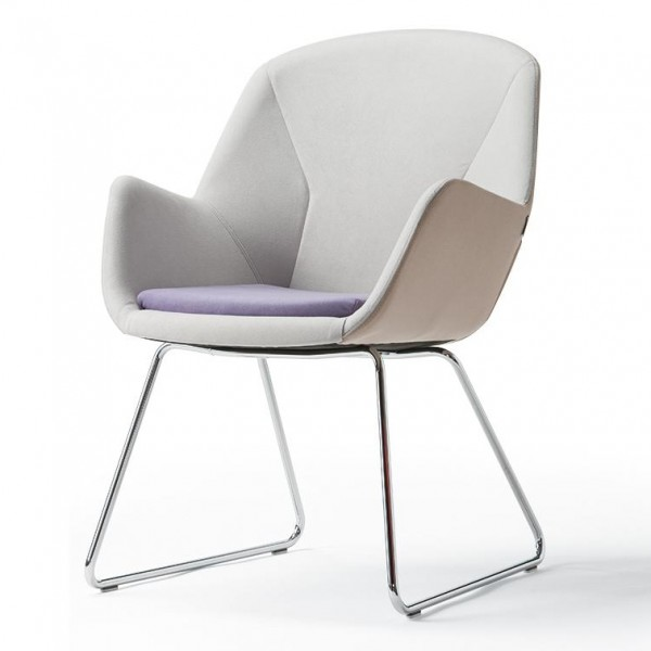 Pulse Kufen-Lounge-Stuhl 6272-203 konfigurierbar