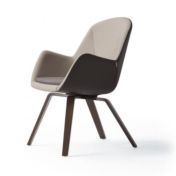 Pulse 4-Fuß-Lounge-Stuhl 6273-203 konfigurierbar