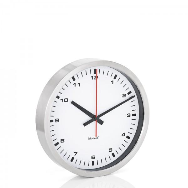 Blomus Wanduhr Era Ø 30 cm weiß 63210
