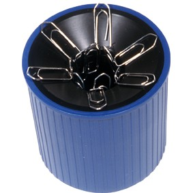 Klammernspender mit Magnet blau