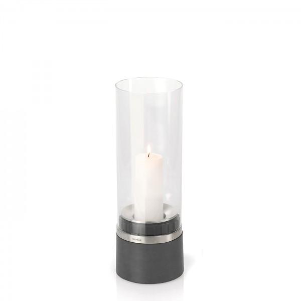 Blomus Windlicht mit Kerze Piedra 65094