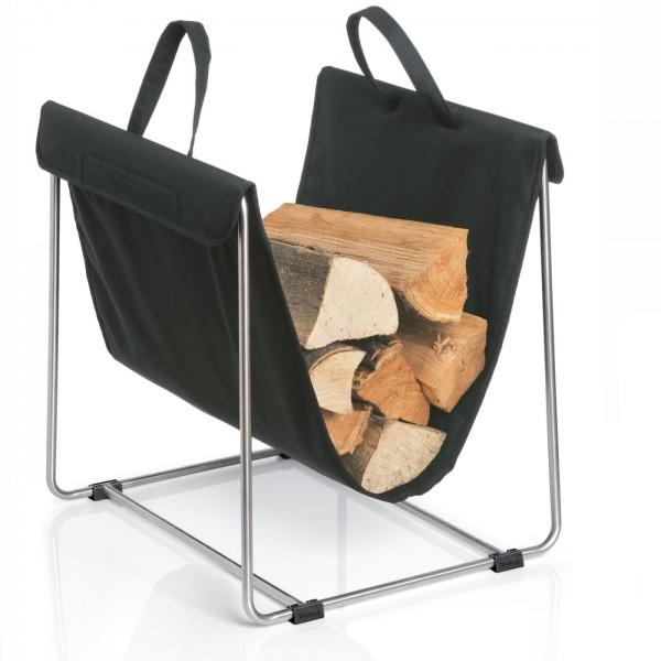 Blomus Holztrage Madra schwarz 65340