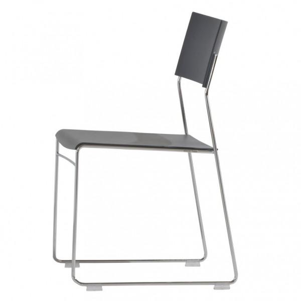 Wiesner Hager Stapelstuhl Outline Kunststoff, Sitzpolster 6870_101 konfigurierbar