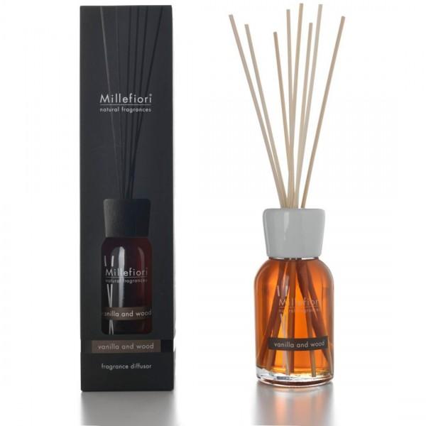 Millefiori Milano Raumduftdiffusor Vanilla & Wood 100ml 7MDDV