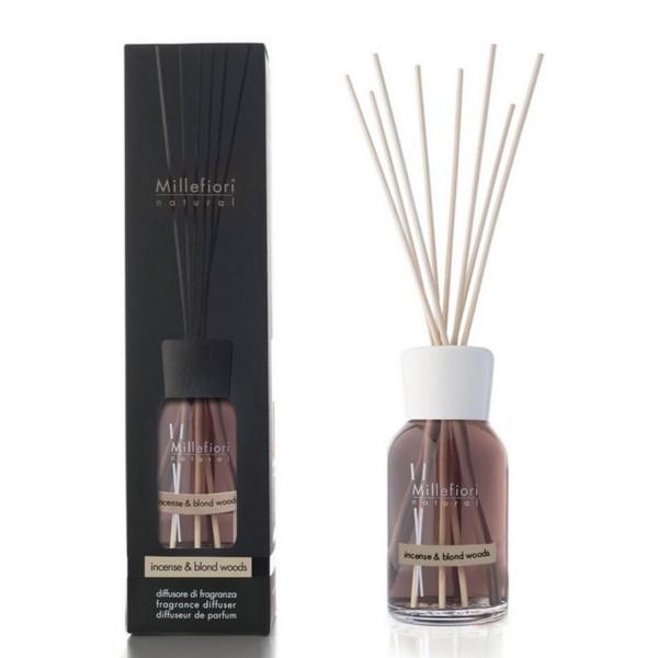 Millefiori Milano Raumduftdiffusor Incense & Blond Woods 250ml 7DDIW