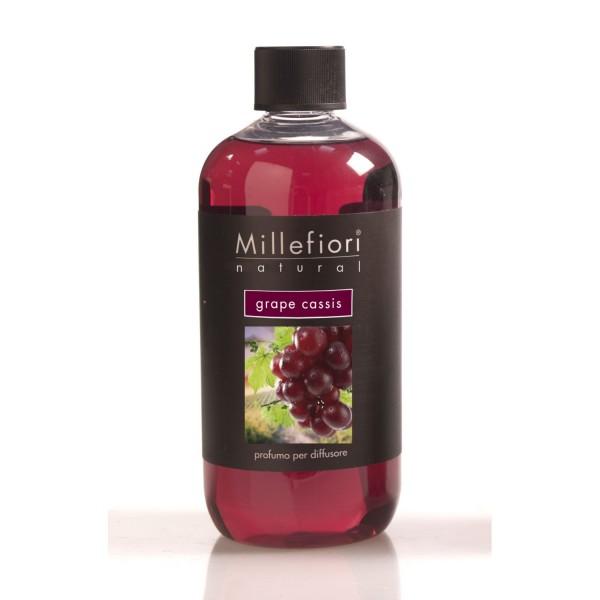 Millefiori Milano Nachfüllkonzentrat für Diffusor Grape Cassis 500ml 7REGC