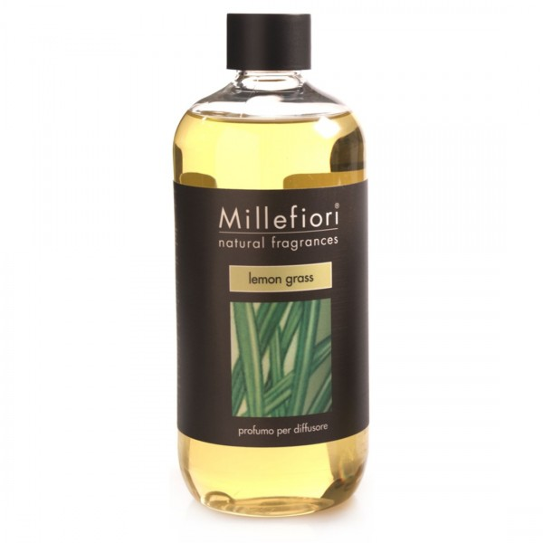 Millefiori Milano Nachfüllkonzentrat für Diffusor Lemon Grass 500ml 7RELG