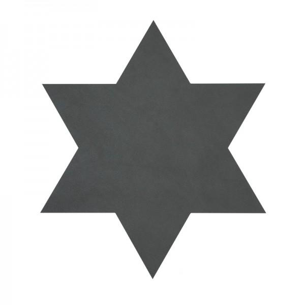 Lind DNA Tischset Star Stern Nupo anthrazit 87014