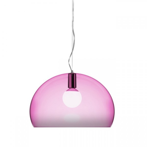 Kartell Hängeleuchte FL/Y pink 9030K7