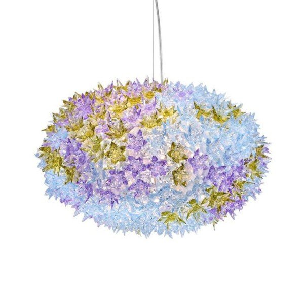 Kartell Hängeleuchte Bloom S1 lavendel 9265LV