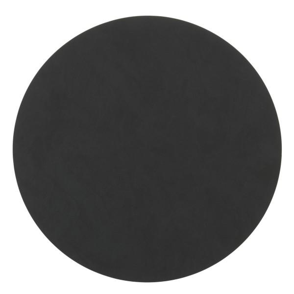 Lind DNA Tischset Circle XL 40cm Nupo schwarz 981889