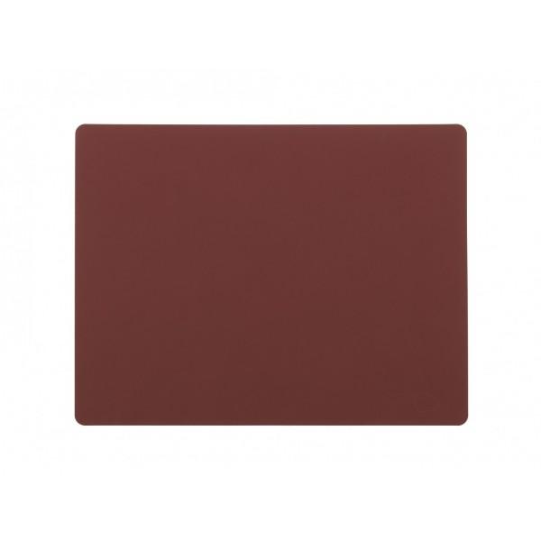 Lind DNA Tischset eckig L 35x45cm Nupo rot 981917