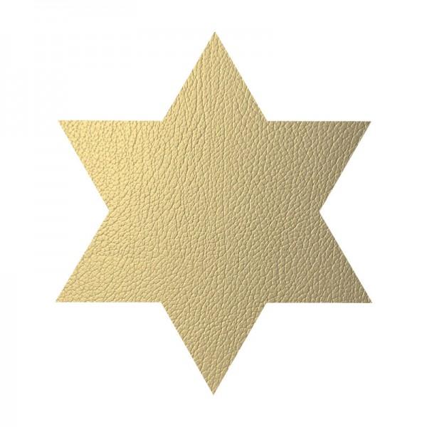 Lind DNA Tischset Star Stern Hippo Gold 990142