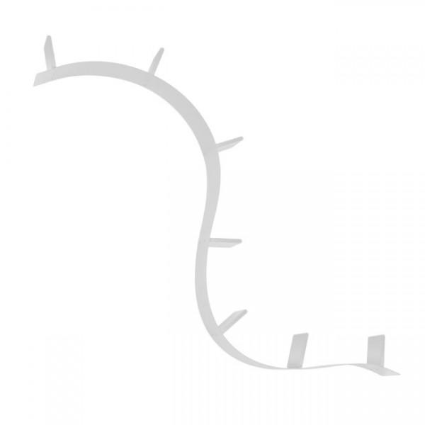 Regal Bookworm 7 Buchstützen aluminium 80031A