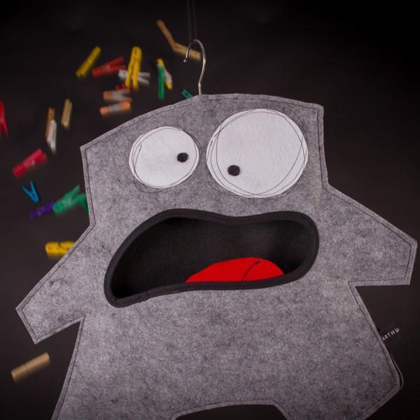 Wäscheklammerbeutel Mr. Grey 011013