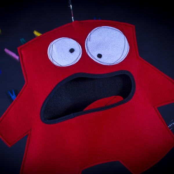 Wäscheklammerbeutel Mr. Red 011001