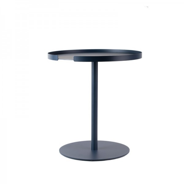 DesignBite BIG HUG Side Table Beistelltisch rund blau midnight blue