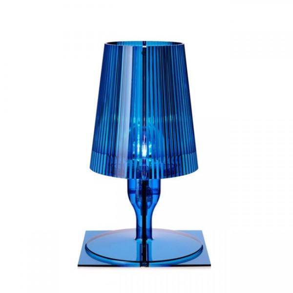 Kartell Nachttischlampe Take blau 9050Q5