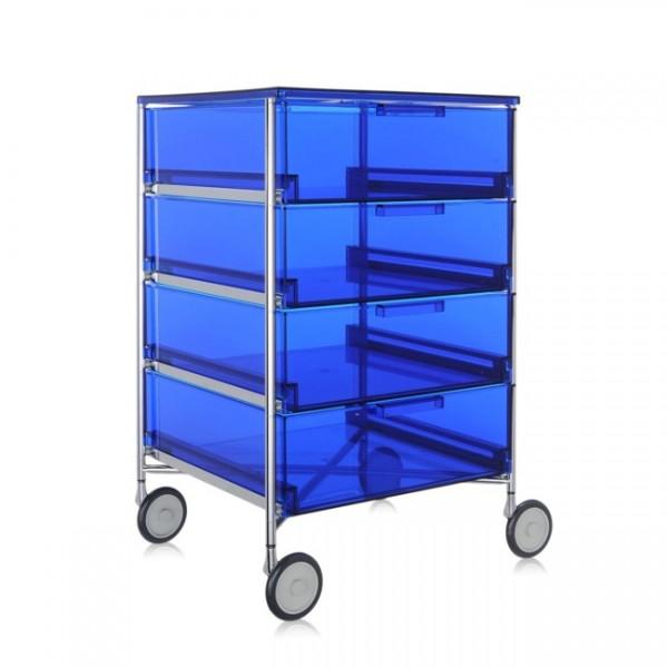 Container auf Rollen Mobil blau 2024L7