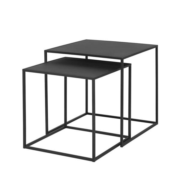 Blomus FERA Beistelltische 2er Set schwarz 65750