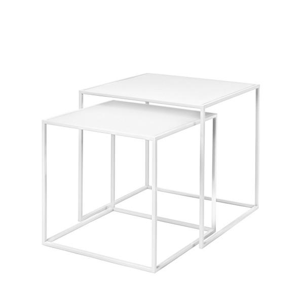 Blomus FERA Beistelltische 2er Set weiß 66198